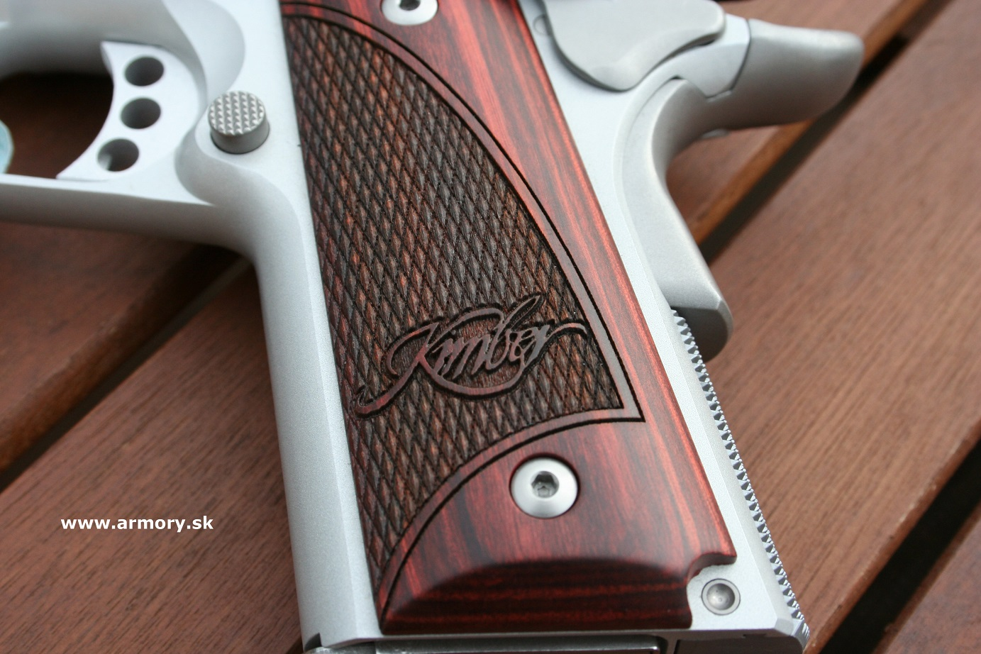 Kimber Stainless Ultra Carry II - 9mm/.45 ACP - Krátke ...